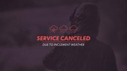 Service-Canceled