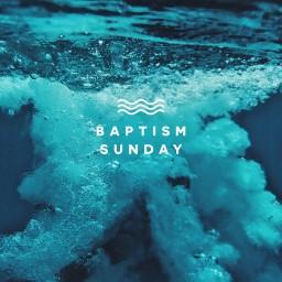 Baptism Sunday Splash Deep Water - Title